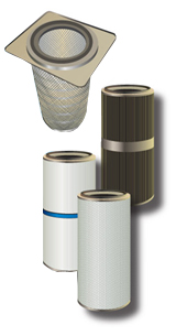 Air Flow Technology Powder Coating & Dust Collection Filter Cartridges