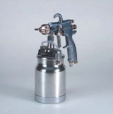 Binks 2100 Spray Gun and 1 Quart Drip-Free cup