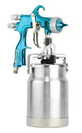 Binks Trophy HVLP Siphon Spray Gun