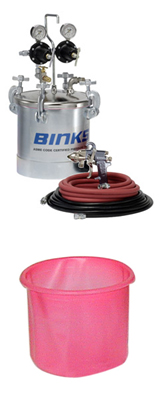 Binks Heavy Fluid Outfits for Water borne Materials