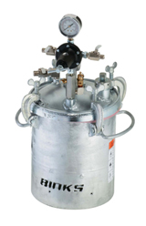 Binks Galvanized Fluid Handling Tanks