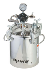 Binks Stainless Steel Fluid Handling Tanks