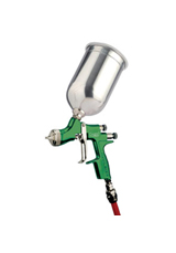 DeVilbiss LVMP Compact Trans-Tech (Green) Gravity Feed